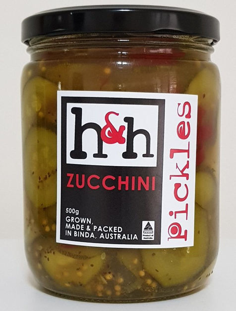 Picture of Pickled Zucchini 500ml
